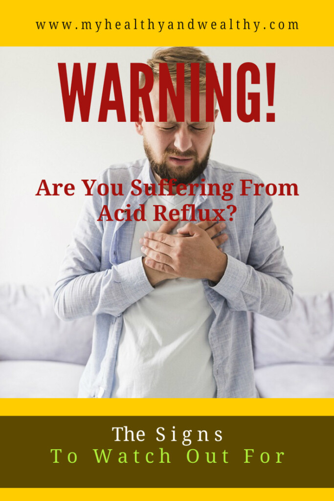 warning? are you suffering from acid reflux?