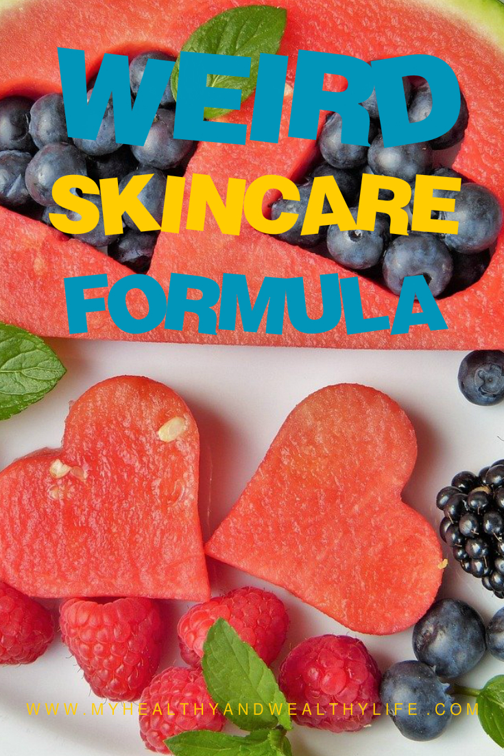 Weird Natural Skincare Formula With 5 Great Natural Ingredients